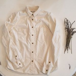 Madewell Casual Button Down Tee